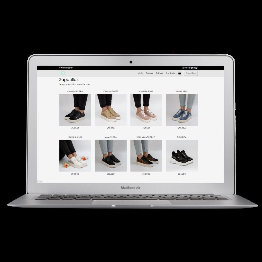 Página Web Tienda